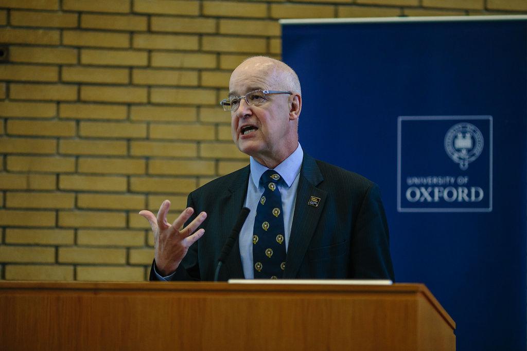 Professor Andrew Hamilton, Vice-Chancellor of Oxford University © REACH