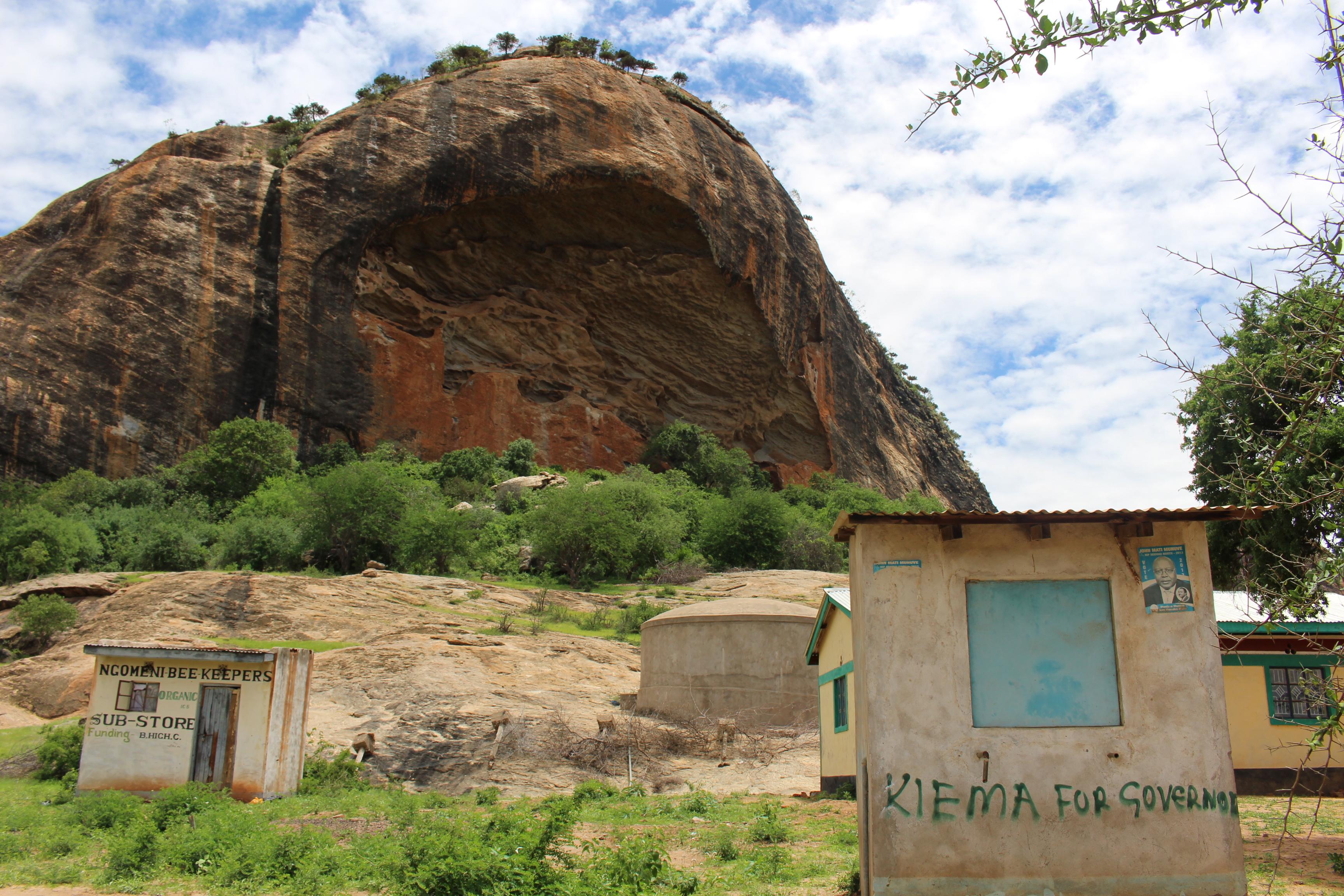 Landscape in Kitui, Kenya; Credit: Joanna Koehler
