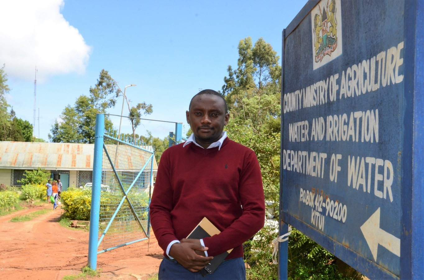 Cliff Nyaga in Kitui, Kenya