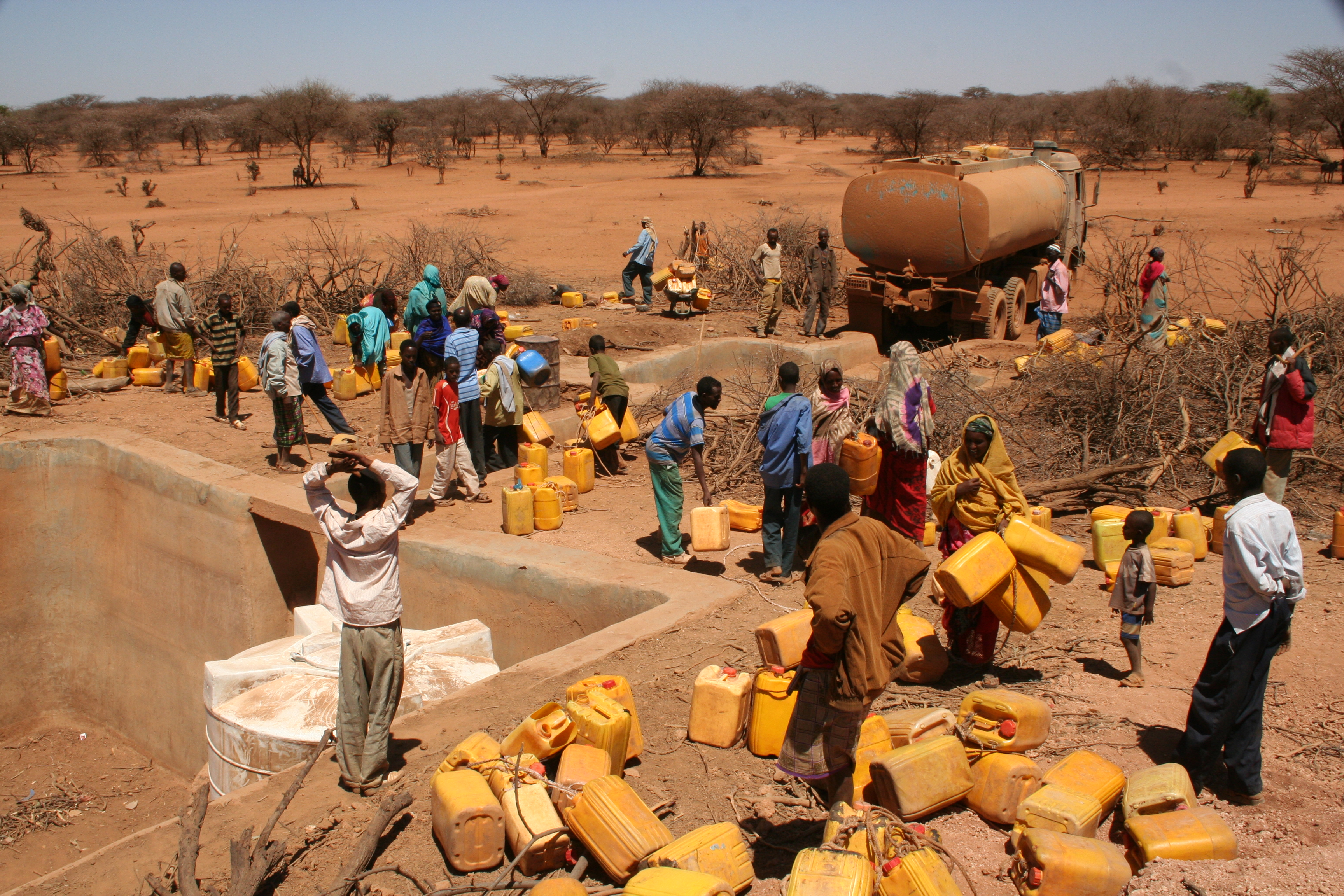 Water Shortage Ethiopia; Credit: Oxfam East Africa