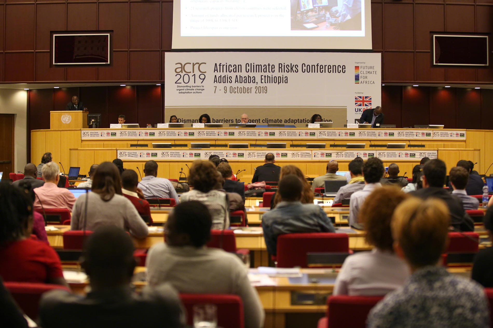 African Climate Risks Conferences in Ethiopia, October 2019. Photo by IISD/ENB | Kiara Worth