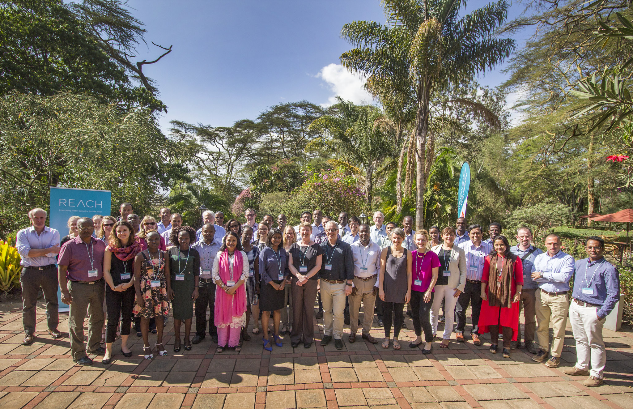 The REACH team in Naivasha, Kenya, April 2017; Credit: Alice Chautard