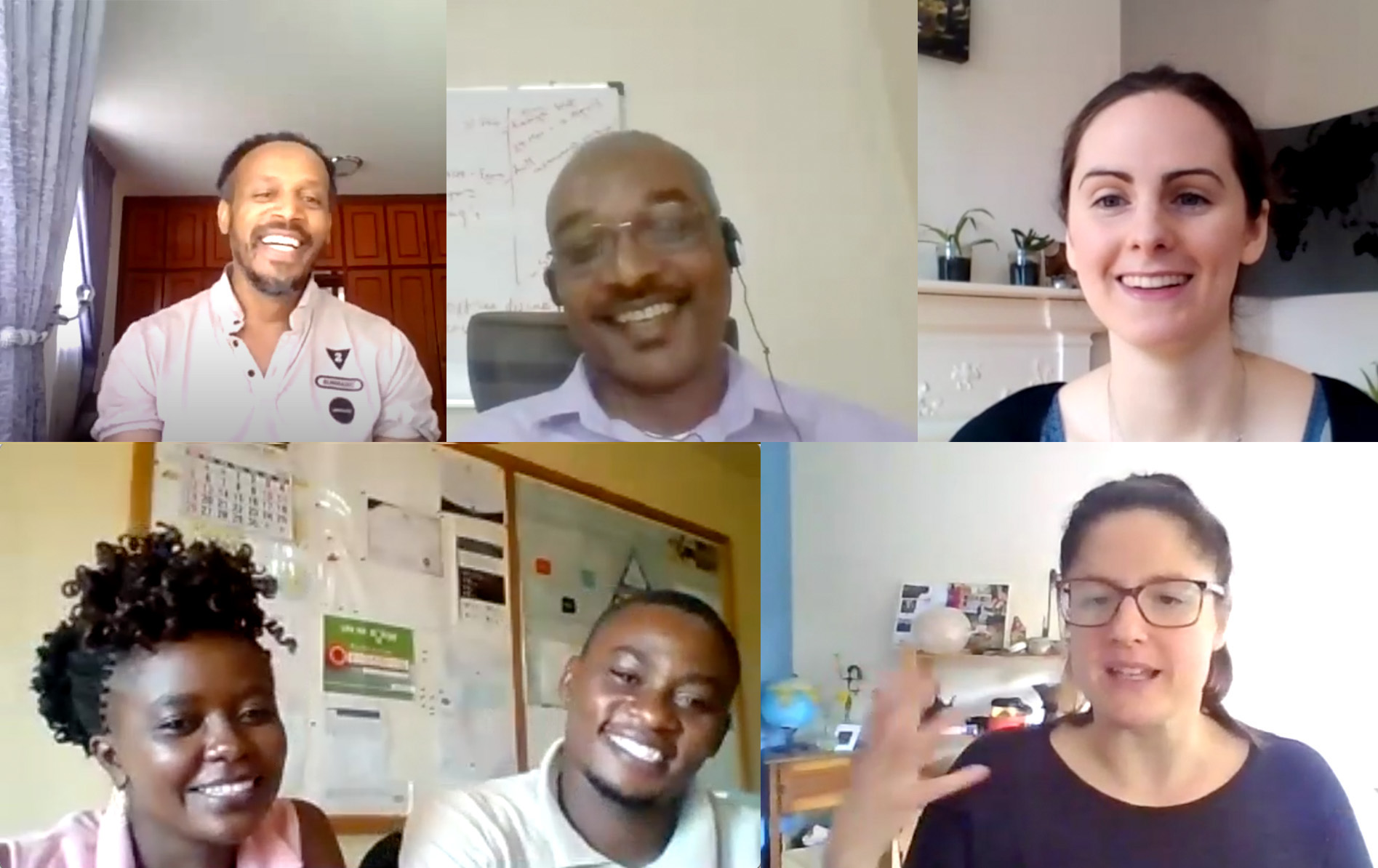 Zoom interviews with REACH researchers in Ethiopia, Kenya and the UK